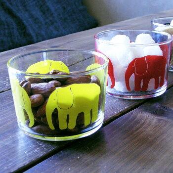 newFinlayson(フィンレイソン)ガラスタンブラーELEFANTTI【Finlaysonフィンレイソン北欧食器北欧デザインコップタンブラーガラスおしゃれギフトプレゼントにも人気】