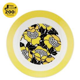 Finlayson(フィンレイソン)19cm プレート フィンレイソン200周年特別デザイン ANNUKKA アヌッカ 北欧デザイン食器 お皿 おさら 花柄 かわいい おしゃれ プレゼント・ギフトにも人気