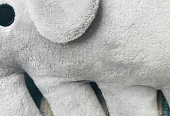 Finlayson(フィンレイソン)クッションELEFANTTIエレファンティ新色象の形をしたクッションぬいぐるみふわふわ心地のやわらかクッション枕北欧インテリア雑貨プレゼント子供出産お祝いピンクグレーブルーイエローブラックブルー人気のデザインクッション