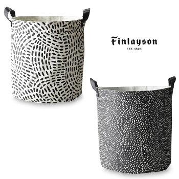 Finlayson(フィンレイソン)キャンバスバスケットSサイズフィンランドKURUPUROクルプロPILKKUVA