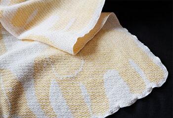 Finlayson(フィンレイソン)ちきり織ブランケット掛け布団エレファンティ北欧デザイン寝具フィンランドおしゃれギフトプレゼントにも人気