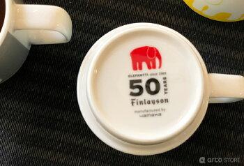 NEWFinlayson(フィンレイソン)ELEFANTTI50thマグコップエレファンティ北欧デザイン食器北欧雑貨50周年記念デザイン