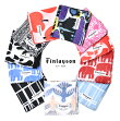 Finlayson(フィンレイソン)ハンカチ【Finlaysonフィンレイソン北欧ファッション雑貨風呂敷はんかち着物にもハンカチおしゃれギフトプレゼントにも人気】ムートコロナエレファンティアヤトス11種類
