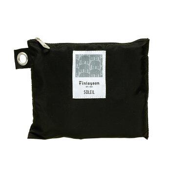 Finlayson(フィンレイソン)ボストンバッグFinlayson×SOLEILエレファンティELEFANTTI折りたたんでポーチにしまえる撥水テフロン加工ポケッタブルバッグ耐久性リフレクター42×32cmエコバッグ