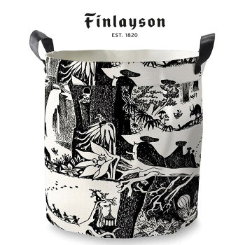 Finlayson(フィンレイソン)バスケットSMOOMIN/アドベンチャームーミン30×30cmフィンランドインポート収納インテリア雑貨
