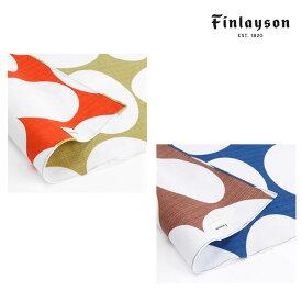 Finlayson(フィンレイソン) 風呂敷 105cm POP 北欧ファッション雑貨 はんかち ハンカチ おしゃれ ギフト プレゼント ポップ 大判クロス お包み 結んでエコバッグにも 北欧雑貨