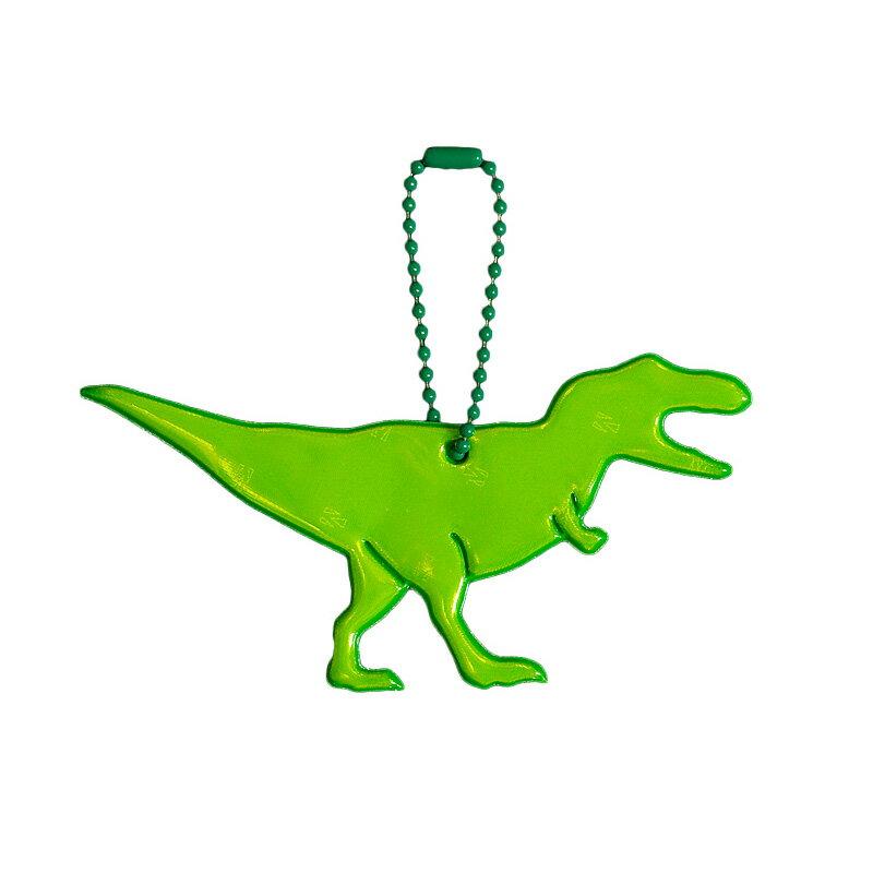 【Glimmis(グリミス)】 ティラノサウルス 【送料無料(2コ以上メール便)】 ギフトにも人気 / リフレクター 北欧の交通安全キーホルダー