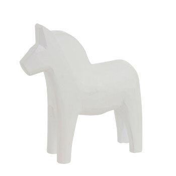 Grannas(グラナス)ダーラナホース15cmBK/WH【北欧スウェーデン製インテリア雑貨置物馬ダーラナホース人気おしゃれかわいいデザインブラックホワイト木製】