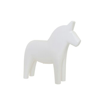 Grannas(グラナス)ダーラナホース10cmBK/WH【北欧スウェーデン製インテリア雑貨置物馬ダーラナホース人気おしゃれかわいいデザインブラックホワイト木製】