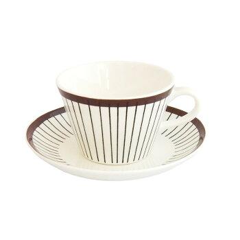 グスタフスベリGustavsbergベルサBersaコーヒーカップ&ソーサー-北欧食器