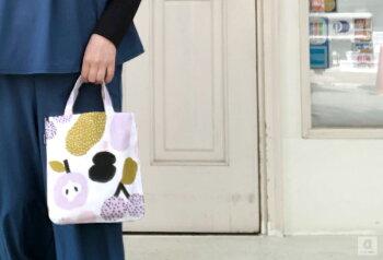 ミニトートバッグKauniste(カウニステ)バッグカバンフィンランド北欧デザインエコバッグ手提げ鞄普段使いかわいいおしゃれプレゼント母の日