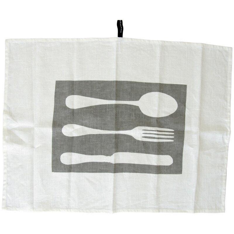 KORPI&GORDON(コルピ&ゴードン) キッチンタオル カトラリー GY