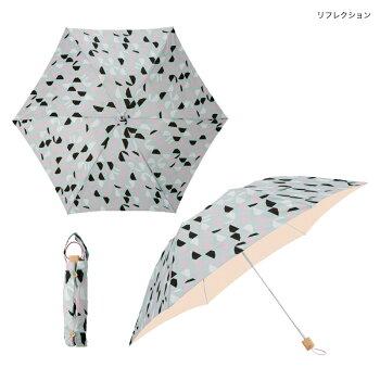 日傘/雨傘兼用北欧デザイン折りたたみ傘korko(コルコデザイン)UVカット遮光率99%以上UPF50+晴雨兼用傘SPCスカンジナビアンパターンコレクション