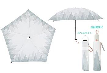 日傘/雨傘折りたたみワンタッチ自動開閉軽量スリムライト北欧デザイン6種korko(コルコデザイン)UVカット遮光率99%以上UPF50+
