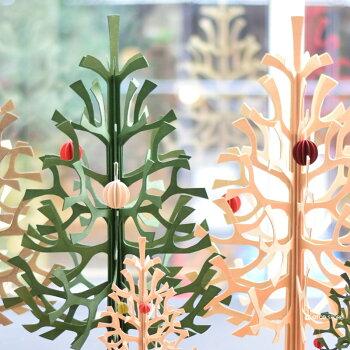 Lovi(ロヴィ)ボール4cm/ピンク,ダークレッド,ホワイト,ナチュラル,ライトグリーン5色/北欧クリスマスツリー飾りオーナメント【メール便OKプレゼント】