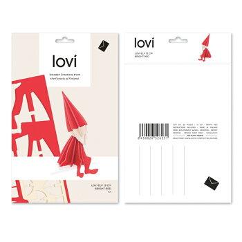 【10倍】Lovi(ロヴィ)エルフMサイズ12cm2色北欧【メール便OKおしゃれな北欧ギフトにも人気】クリスマスツリーオーナメント北欧白樺