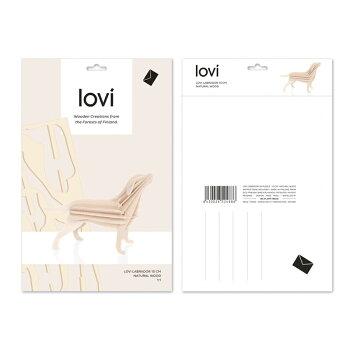 【10倍】Lovi(ロヴィ)ラブラドール15cm北欧オーナメントカード【メール便OKプレゼント】
