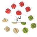 Lovi(ロヴィ)ミニボール 1.7cm 8個入り 3色 / 北欧 クリスマスツリー 飾り オーナメント 【メール便OK プレゼント】