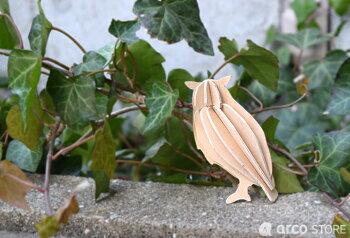 Lovi(ロヴィ)フクロウ9.5cm北欧オーナメントカード梟北欧ツリー飾りおしゃれな北欧プライウッド白樺フィンランドインテリア置物プレゼントギフトに人気