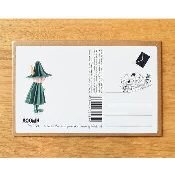 スナフキンLoviロヴィオーナメントカード北欧人気雑貨プレゼントカードオブジェ
