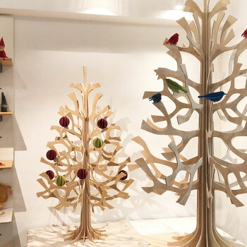 Lovi(ロヴィ)クリスマスツリー120cmMomi-no-kiもみの木北欧雑貨フィンランドおしゃれな北欧プライウッド白樺フィンランドインテリア置物プレゼントギフトに人気Lovi日本総代理店