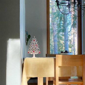 Lovi(ロヴィ)日本総代理店クリスマスツリー30cmミニボール付北欧雑貨オーナメントカードおしゃれな北欧プライウッド白樺フィンランドインテリア置物プレゼントギフトに人気Lovimominokiもみの木バーチツリー