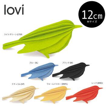 Lovi(ロヴィ)バード12cm(M)北欧オーナメントカード北欧ツリー飾りおしゃれな北欧プライウッド白樺フィンランドインテリア置物プレゼントギフトに人気