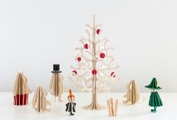 Lovi(ロヴィ)リトルミイムーミンカード北欧オーナメントカード北欧ツリー飾りおしゃれな北欧プライウッド白樺フィンランドインテリア置物プレゼントギフトに人気