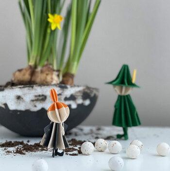 Lovi(ロヴィ)リトルミイMOOMIN(ムーミン)/北欧Loviロビムーミンシリーズ【メール便OKプレゼント】北欧白樺インテリア置物プレゼント