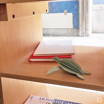 Lovi(ロヴィ)ウミガメ12cmかめ亀カメ北欧オーナメントカードおしゃれな北欧プライウッドシーライフコレクション白樺フィンランドインテリア置物プレゼントギフト