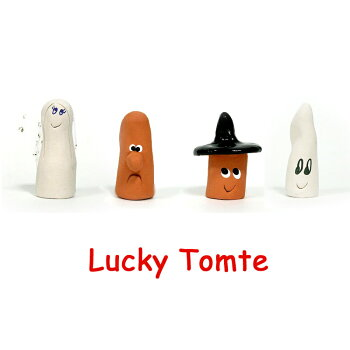 LuckeyTomte(ラッキートムテ)/ラッキートムテ【北欧人気雑貨北欧インテリア置物スウェーデントムテお守り】