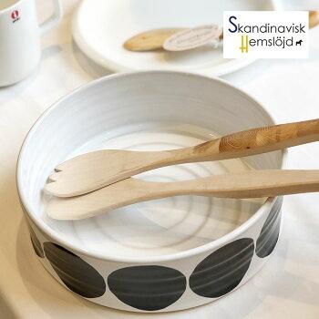 サラダセット木製SkandinaviskH(スカンジナヴィスク)フォーク&スプーン