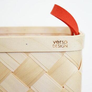 北欧雑貨収納versodesignベルソデザイン白樺かごバスケット