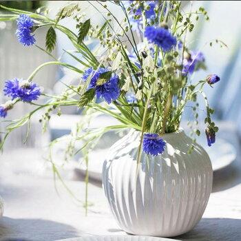 Kahler(ケーラー)花瓶フラワーベース(S)ハンマースホイHAMMERSHOIデンマーク陶器ホワイトプレゼントおしゃれな北欧雑貨ホワイト