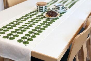テーブルランナーbersaベルサスティグリンドベリ40x145cmテーブルマット北欧デザインキッチン雑貨100%リネン