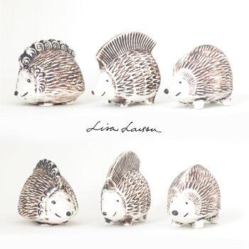 【送料無料】LISALARSON(リサ・ラーソン)ハリネズミイギー・ピギー・プンキーIggy,Piggy,Punky陶器置物動物かわいいインテリア北欧雑貨大人気