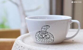 LisaLarson(リサ・ラーソン)スケッチシリーズスープマグおしゃれ北欧食器5タイプイラストスウェーデン洋食器お皿小皿プレゼント・ギフトにも人気