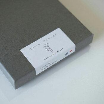 パスケースSIWA×URUSHI(シワ)紙和北欧デザイナーとコラボレーションデザイン軽量パスケースカードケースカードポケット3スリットおしゃれな北欧デザイン雑貨専用ボックス入り和紙漆プレゼントギフトにもぴったり【メール便】
