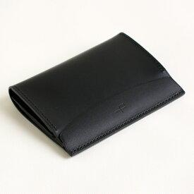 【クーポンあり】エムピウ m+ FERMA: MATI Buttero: black | 名刺入れ カードケース メンズ レディース イタリアンレザー 牛革 コンパクト スリム 人気 おすすめ おしゃれ かわいい ギフト お祝い プレゼント 日本製