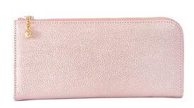 【クーポンあり】ARUKAN アルカン フィーナ Lファスナー ピンク   レディース コンパクト 長財布 上品 高級感 レザー 高屋 キラキラ かわいい おすすめ おしゃれ 人気 ギフト お祝い プレゼント 日本製 送料無料