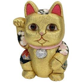 【クーポンあり】柿沼東光 招き猫 小 風水 金 | 伝統工芸士 開運 まねき猫 まねきねこ 金猫 白猫 黒猫 赤猫 置物 木目込み人形 柿沼人形 人気 おすすめ おしゃれ かわいい プレゼント 日本製