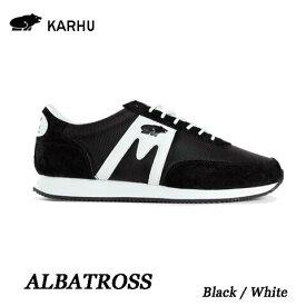 KARHU KH802519 ブラック/ホワイト アルバトロスカルフ Albatoross Black / White レディース メンズ ユニセックス 靴 クッションシューズ スニーカー シロクマ  北欧