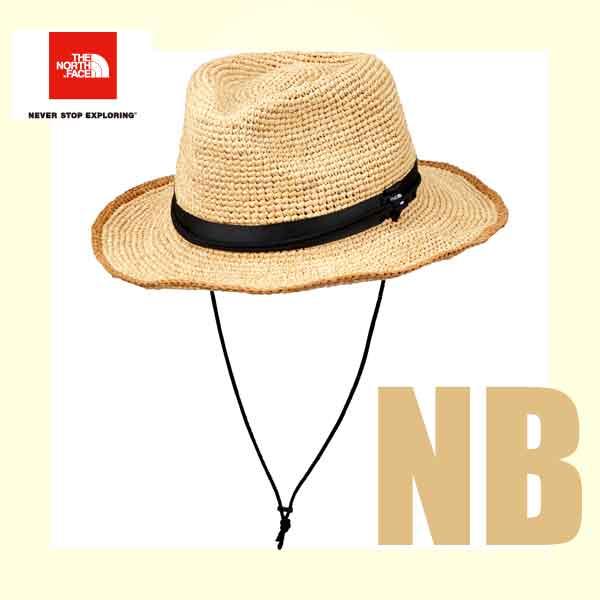 ザ ノースフェイス 段ボール梱包 2018年最新 ラフィア ハット ヤシ科の天然素材ラフィアを使用したサファリハット。 ハット 帽子 The North Face Raffia Hat (Men's) (NB)ナチュラルベージュ NN01554