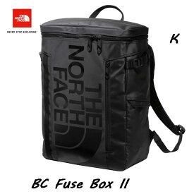 The North Face NM82000 K BC Fuse BoxII 30L スリーヴがフリース素材!オーガナイザーに改良! ザ ノースフェイス BCヒューズボックス ツー ブラック 大学生 パソコン収納
