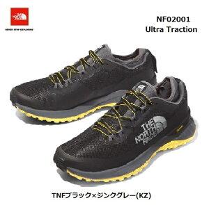The North Face NF02001 KZ ウルトラ トラクション(メンズ) ザ ノースフェイス Ultra Traction TNFブラック×ジンクグレー(KZ)トレイルランニングシューズ トレラン 靴