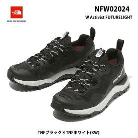 The North Face NFW02024 KW アクティビスト フューチャーライト(レディース)ザ ノースフェイス W Activist FUTURELIGHT TNFブラック×TNFホワイト(KW)トレッキングシューズ 靴