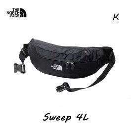 The North Face NM72100 K スウィープ 4L ザ ノースフェイス Sweep 4L ブラック(K) BLACK ウエストバッグ