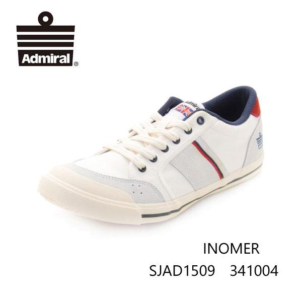 アドミラル イノマー アイボリー/ネイビー/レッド SJAD1509 341004 Ivory/Navy/Red レディース メンズ ユニセックス Admiral INOMER  靴 スニーカー ローカットシューズ