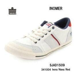 Admiral SJAD1509 341004 イノマー アイボリー/ネイビー/レッド Ivory/Navy/Red レディース メンズ ユニセックス アドミラル INOMER  靴 スニーカー ローカットシューズ