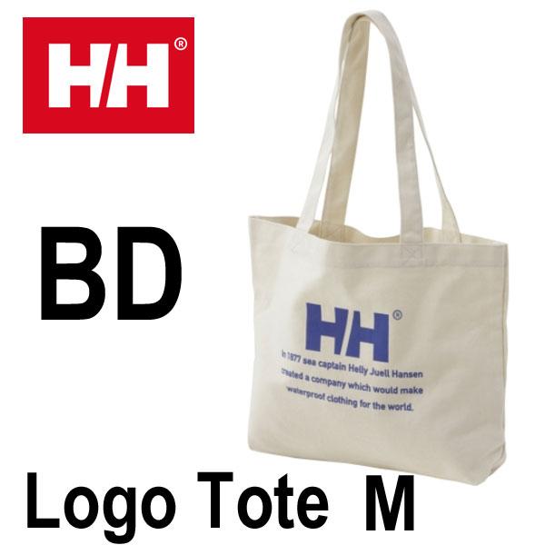 ヘリーハンセン ロゴトートM HELLY HANSEN Logo Tote M HY91733 (BD)ブルーダリア